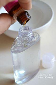 Gel igienizzante con aloe vera, tea tree oil e lavanda