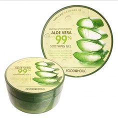 [FOOD A HOLIC] Calming & Moisturizing 99% Aloe Soothing Gel 300ml #FOODAHOLIC