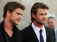 Pin for Later: 10 Times Chris and Liam Hemsworth Gave Us Sibling Goals When They Gave These Sexy Smolders and We Felt So Unworthy