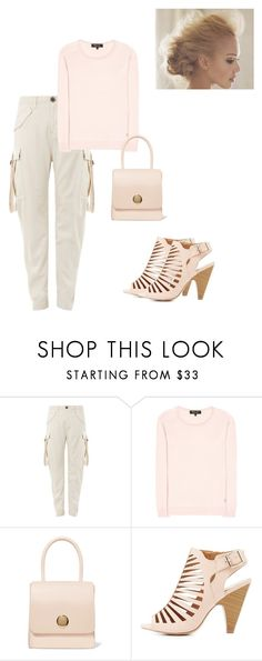 """""""Casual Friday"""" by kimberlydalessandro ❤ liked on Polyvore featuring Topshop, Loro Piana, Mansur Gavriel and Delicious"""