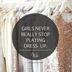 www.nicoledicarlo.com quotes fashion clothes dressup sequins