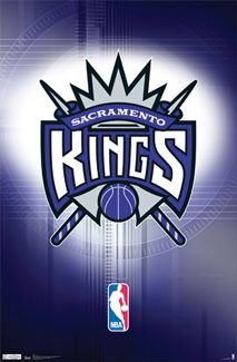 Sacramento Kings Basketball Official NBA Team Logo Poster - Costacos Sports Inc.