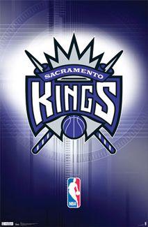 Sacramento Kings Basketball Official NBA Team Logo Poster - Costacos Sports Inc.
