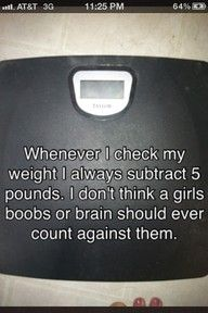 Girls with big boobs and brain here says Amen!