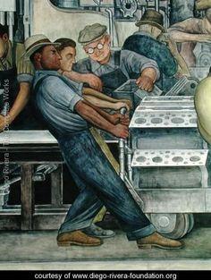 Detroit Industry 1933 - Diego Rivera