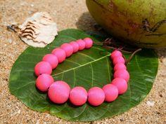 Farah Pinky Pink - ručne vyrobený náhrdelník Jewellery, Pink, Jewels, Schmuck, Pink Hair, Jewelry Shop, Roses, Jewlery, Jewelery