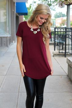 cute soft tees with statement necklaces are always so easy, and if I have a good one I wear it constantly.