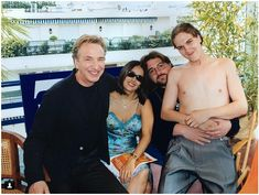 Alan. This pic taken when 'Dogma' went to Cannes in 1999.(From Kevin Smith Instagram)