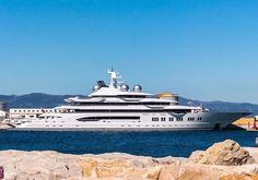 Let's see who can guess the name of the superyacht spotted in Gibraltar by @superyachts_gibraltar