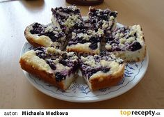 Brownie brownies s tvarohem Czech Desserts, Brownies, French Toast, Muffin, Treats, Breakfast, Sweet, Cakes, Food Cakes