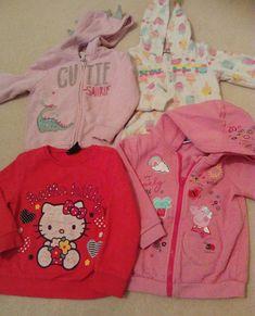 girls 2-3 hoodie jumper bundle winter clothes peppa pig hello kitty