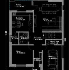 case moderne cu etaj Modern two story houses 13 Two Story Homes, Second Story, Story House, Floor Plans, Houses, Design, Mud Rooms, Homes, Design Comics