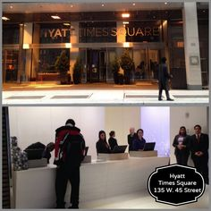 """""""Hyatt Times Square, Hyatt Hotels in New York, hotels near Times square, midtown hotels , New York hotels"""" Times Square Hotels, New York Attractions, New York Hotels, High Line, Rockefeller Center, Little Italy, Vintage New York, Lower Manhattan, New York Travel"""