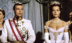 Romy Schneider as Sissi (3, 1957) Milan Scala scene -delicate necklace and beautiful tiara-
