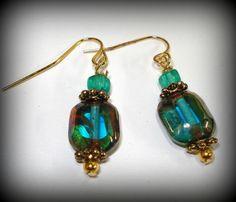 Czech Glass Earrings ... from 'FOFDesigns' on Lilyshop for $17.00