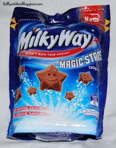 Milky Way Magic Stars Chocolate (with faces)