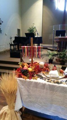 All Saints Day Altar Altar Design, Godly Play, Worship Ideas, All Souls Day, All Saints Day, Altar Decorations, Easter Brunch, Church Ideas, Ministry