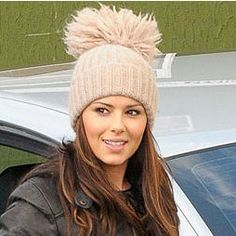 Knitted bobble hats are all the rage again 8a65a61bb46