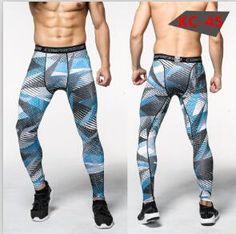 Men's Gym Compression Camouflage Leggings