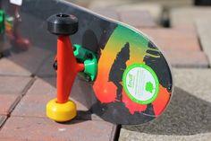 BLANK Skateboard Rose Fluo Skateboards complet 7.5