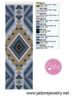 Beads Pictures, Beading Patterns, Beaded Bracelet Patterns, Seed Bead Patterns, Loom Weaving, Bead Crochet, Bead Jewellery, Seed Bead Jewelry, Bead Loom Bracelets