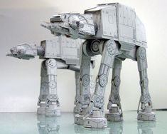 AT-AT Snow Walker (Star Wars) - detailed PDFs to print and make - at SF Papercrafts