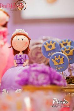 Pink Ateliê de Festas: Festa Castelo da Princesa Sofia