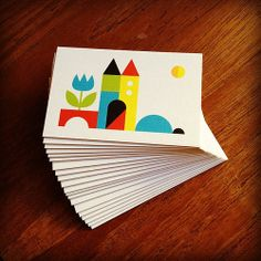 New Lux Business Cards printed by MOO