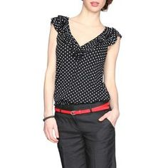 dot in black Mom Outfits, Casual Outfits, Fashion Outfits, Womens Fashion, Office Fashion, Work Fashion, Look Office, Modelos Fashion, My Wardrobe