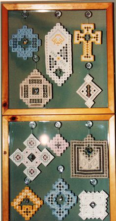 Elegant Suncatchers II Hardanger New/Older Pattern by Mildred Torgerson