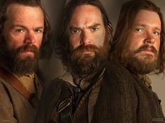 Angus Mohr (Stephen Walters), Murtagh Fraser (Duncan Lacroix) and Rupert MacKenzie (Grant O'Rourke) | Outlander on Starz