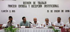 PRIMERA REUNIÓN SOBRE ENTREGA-RECEPCIÓN INSTITUCIONAL