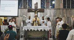 Visita da imagem peregrina na Paróquia São Sebastião