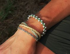 Make a Braided Bead Bracelet — Saved By Love Creations