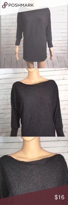 """Anthropologie Bordeaux Boatneck Batwing Top Anthropologie Womens sz M Bordeaux Boatneck Batwing Jersey Knit Top    Measurements  Bust 24.5""""  Sleeve 21.5""""  Length 29"""" Anthropologie Tops Blouses"""