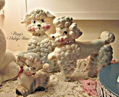 Penny's Vintage Home: Christmas with the Poodles