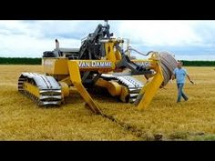 Agricultural Land Drainage Machine