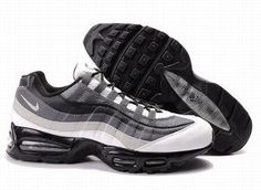 Nike Air Max 95 Mens Grey White Black Trainers UK