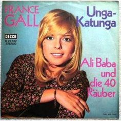 FRANCE GALL - Promo Allemand Unga Katunga + 1