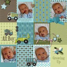 Scrapbook Designs Templates, Scrapbook Templates For Baby Boy and Pics of Easy Diy Scrapbook Ideas. Baby Boy Scrapbook, Scrapbook Bebe, Paper Bag Scrapbook, Baby Scrapbook Pages, Scrapbook Page Layouts, Scrapbook Albums, Scrapbook Supplies, Scrapbook Cards, Scrapbook Templates