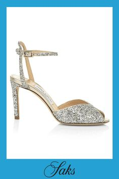 East End London, Glitter Sandals, Evening Sandals, Shoe Boutique, V Cuts, Jimmy Choo, Royals, Ankle Strap, Stiletto Heels