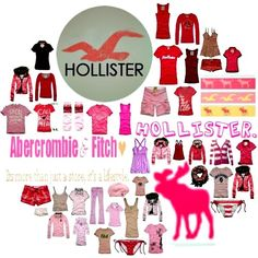 Hollister & Abercrombie & Fitch