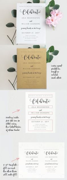 Wedding Itinerary Wpc Invitation Templates  Invitation