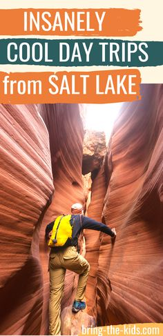 Are you looking for the best day trips from Salt Lake City? These Utah day trips will give you a quick adventure fix with a short change of scenery.  Over 10 great day trips from Salt Lake for people who love to explore Utah. Utah Vacation, Dream Vacations, Vacation Ideas, Park City Utah, Salt Lake City Utah, Utah Adventures, Outdoor Adventures, Cross County, Utah Camping