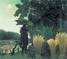 Henri Rousseau I The Snake Charmer