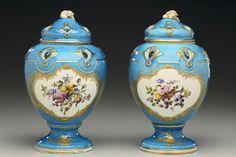 Potpourri Vases with Covers