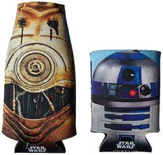 "Camping Kitchen :""ICUP Star Wars Droids Bottle and Can Huggie/Koozie - 2 Pack : Clear"" -- Additional details at the pin image, click it  : Camping Kitchen"