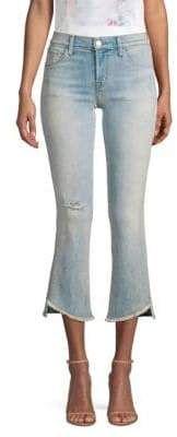 J Brand Selena Mid-Rise Cropped Frayed Hem Jeans Capri Outfits, Frayed Hem Jeans, Cropped Jeans, J Brand, Capri Pants, Skinny Jeans, Diy Jeans, Selena, Women
