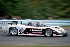 """The Lola-chassis-ed turbocharged """"Corvette"""" had a phenomenal It broke a streak held by Porsche when it won the race at Ro. Sports Car Racing, Road Racing, Auto Racing, Le Mans, Chevrolet Corvette, Chevy, Racing Motorcycles, Vintage Race Car, Indy Cars"""