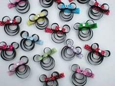 minnie mouse quilling - bjl